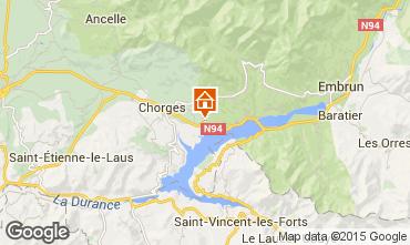 Map Réallon Chalet 2488