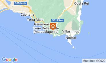 Map Solanas Villa 68699