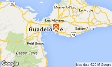 Map Gosier (Guadeloupe) Apartment 86341