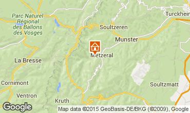 Map Colmar Chalet 27574