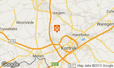 Map Kortrijk Vacation rental 78556