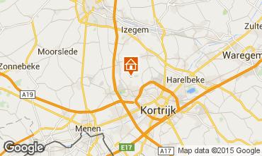 Map Kortrijk Vacation rental 78556