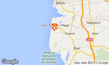 Map Quend Plage Mobile home 84846