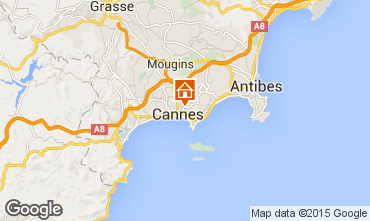 Map Cannes Apartment 59852