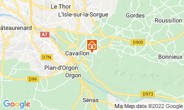 Map Cavaillon Vacation rental 67163