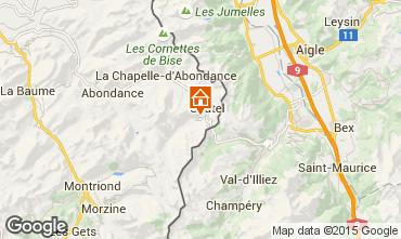 Map Ch�tel Chalet 800