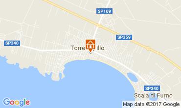 Map Torre Lapillo Apartment 102734