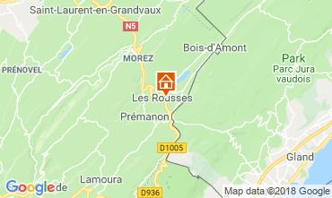 Map Les Rousses Apartment 117146