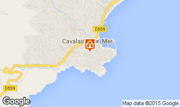 Map Cavalaire-sur-Mer Apartment 76489