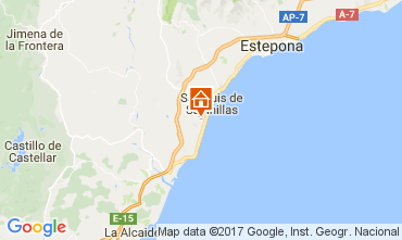 Map Manilva Apartment 111702