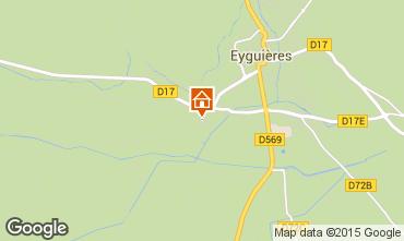 Map Eyguières Villa 92658