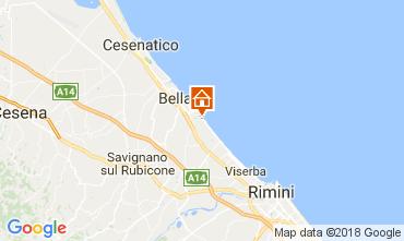 Map Bellaria Igea Marina Apartment 113131