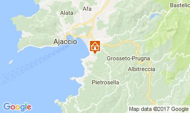 Map Porticcio Villa 111562