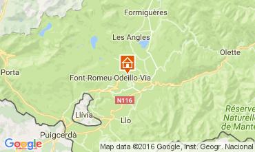 Map Bolquère Pyrenées 2000 Chalet 25302