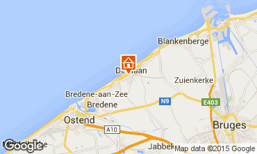 Map Ostend Apartment 86926