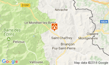 Map Serre Chevalier Apartment 112868
