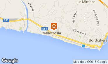Map Vallecrosia Apartment 62188