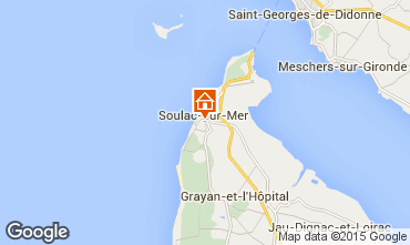 Map Soulac Villa 6728