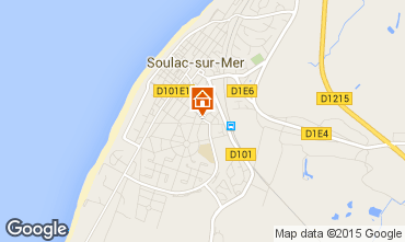 Map Soulac Villa 6728