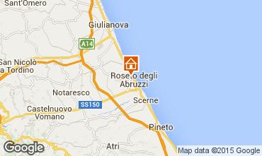 Map Roseto degli Abruzzi Apartment 30012