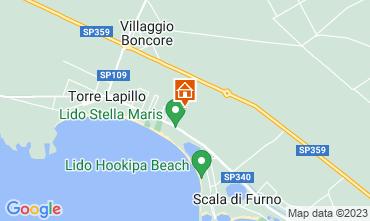 Map Torre Lapillo Apartment 116224