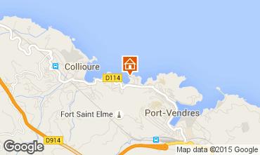 Map Collioure Apartment 93240