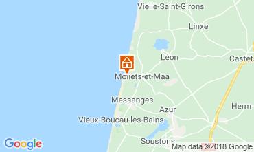 Map Moliets Apartment 115858
