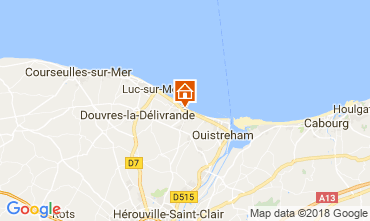 Map Hermanville-sur-Mer Apartment 115394