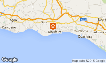 Map Albufeira Apartment 82671