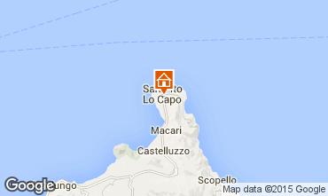 Map San Vito lo Capo Apartment 101904