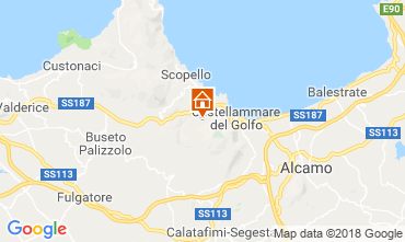 Map Scopello Villa 117081