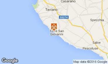 Map Ugento - Torre San Giovanni Apartment 84985