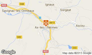 Map Ax Les Thermes Apartment 85844