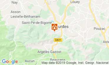 Map Lourdes House 12068