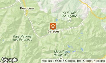 Map Barèges Apartment 3977