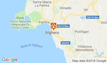Map Alghero Apartment 60593