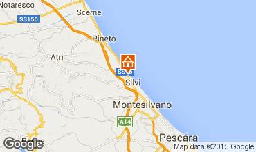 Map Silvi Marina Apartment 77104