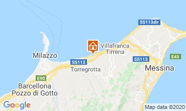 Map Milazzo Apartment 110922