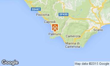 Map Palinuro Apartment 42608