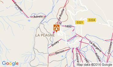 Map La Plagne One-room apartment 106797