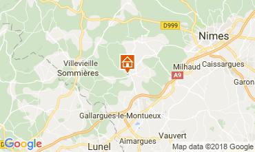 Map Nîmes Villa 114057