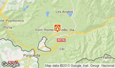 Map Font Romeu Apartment 80067