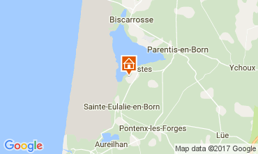 Map Biscarrosse Mobile home 108709