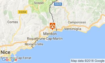 Map Menton Apartment 113458