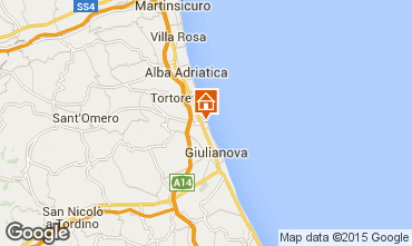 Map Giulianova Apartment 23634