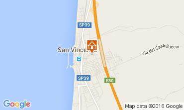 Map San Vincenzo Apartment 103836