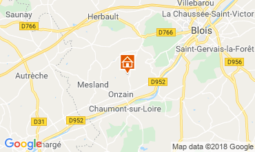 Map Blois Mobile home 117561