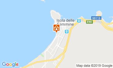 Map Isola delle Femmine Apartment 119410