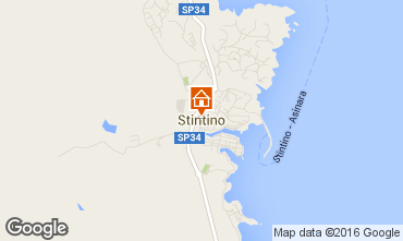 Map Stintino One-room apartment 88508