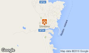 Map Stintino One-room apartment 88508